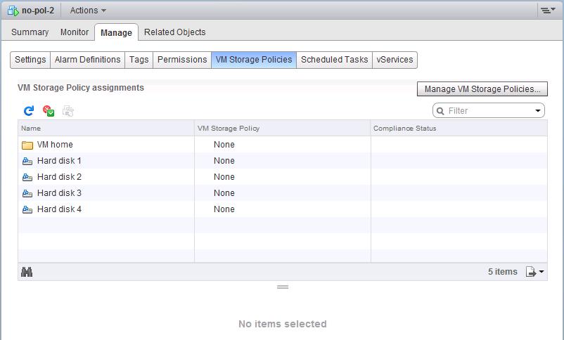 linked-clone-desktop - no policy