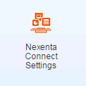 nexentaconnect settings