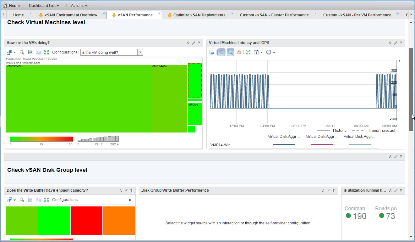 New vSAN Management Pack for vRealize Operations