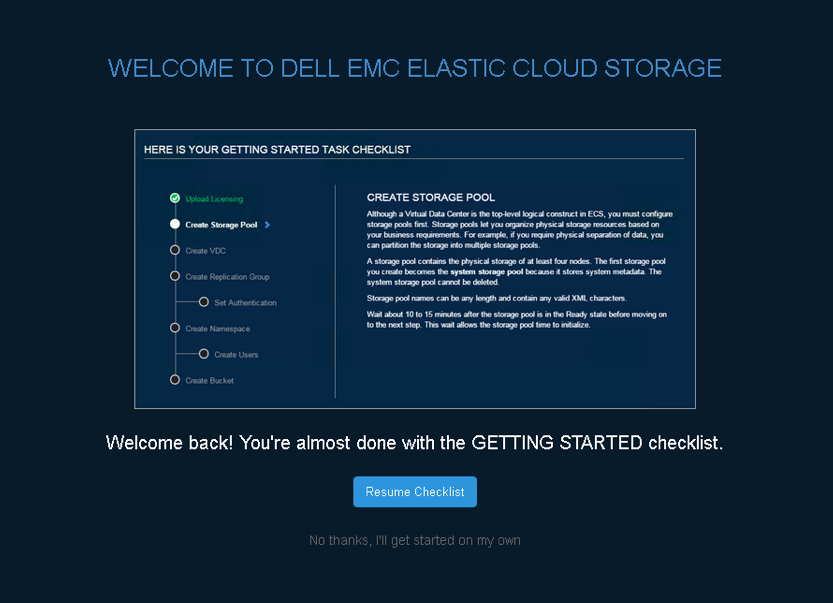 A closer look at ECS (Elastic Cloud Storage) running on vSAN