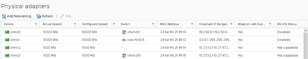 Building a simple ESXi host overlay network with NSX-T