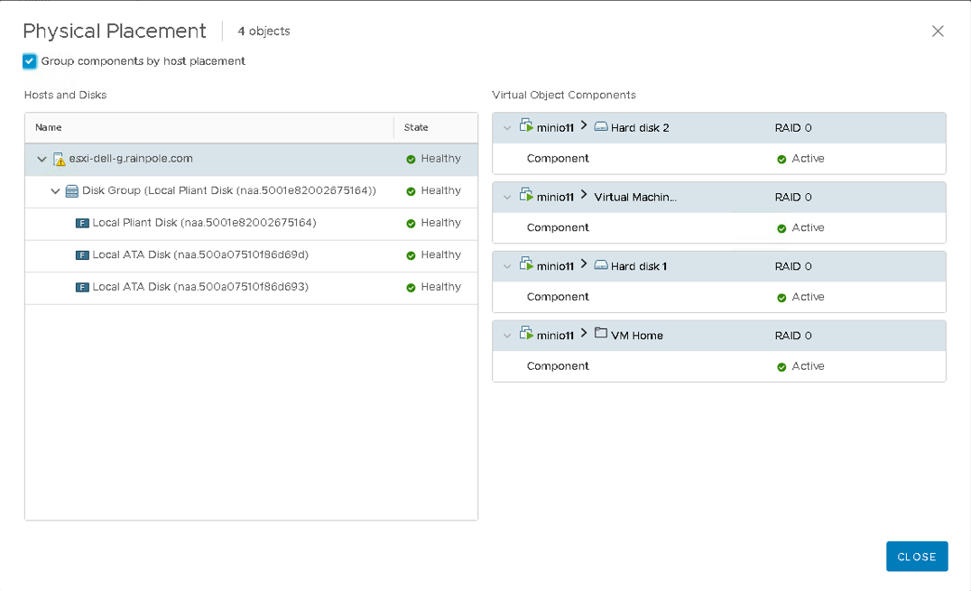 Minio S3 object store deployed as a set of VMs on vSAN - CormacHogan com