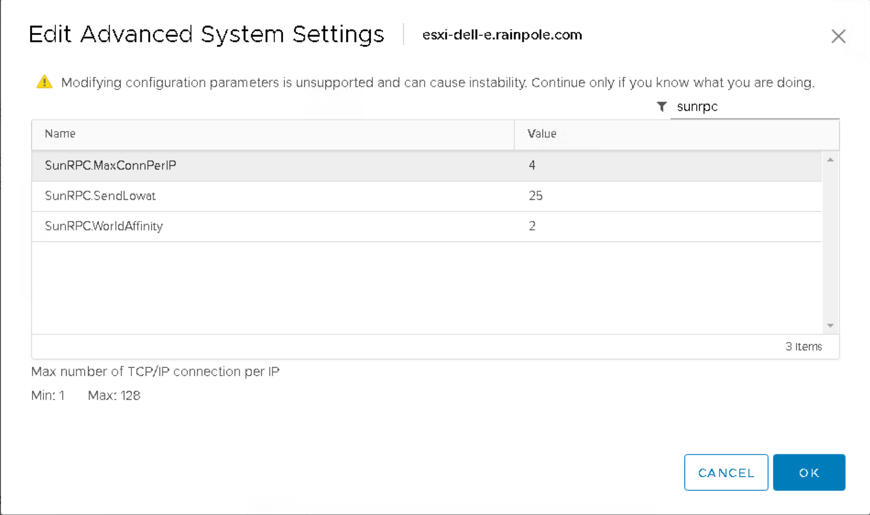NFS TCP Connections on vSphere revisited - CormacHogan com